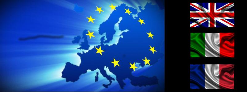 Lingue e Zona d'Intervento Europa