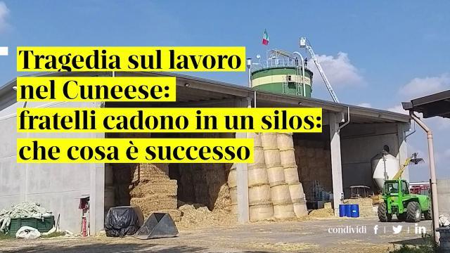 Tragedia Silos Cuneo