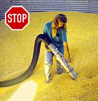 SPECIAL WORKS SRL   Aspirazione materiale contenuto nel silos