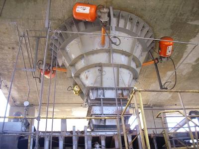 Bonifica Pulizia e Rimozione Croste dei silos con Booster di espansione aria